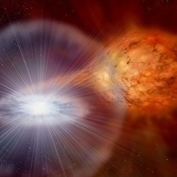 "If a white dwarf comes to accrete material from some stellar companion, it can become an incredibly luminous source of extreme UV and soft X-ray emission, a ""supersoft X-ray source"" or SSS. We would expect emission line nebulae to be found accompanying such sources; however, only one SSS has been observed to have such a nebula. Now, scientists at MPA and the Monash Centre for Astrophysics have pieced together the puzzle."
