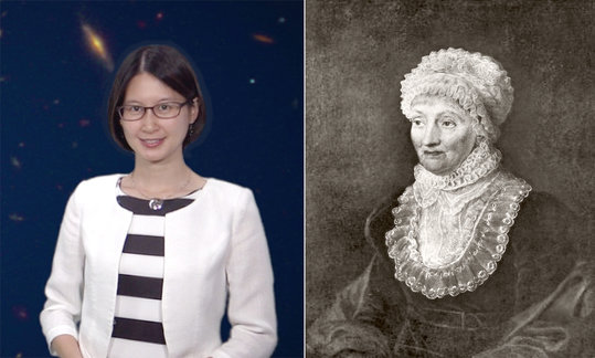 "Astronomer Sherry Suyu from the Max Planck Institute for Astrophysics on comet-hunter Caroline Herschel, the first salaried female astronomer. (Interview in the framework of ""Women in Science"")"