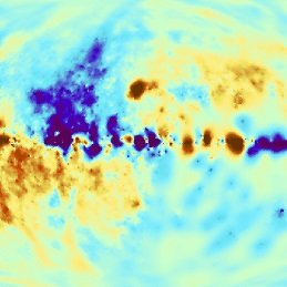 "The magnetic fields of the Milky Way cause electrons with nearly the speed of light to rotate and to emit radio waves. As consequence, this radiation should also ""rotate"" slightly, it is circularly polarized. Researchers at the Max Planck Institute for Astrophysics and colleagues have now predicted some properties of this polarization and created a ""wanted poster"" to allow targeted searches."