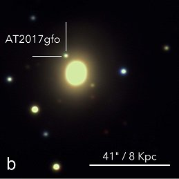 On 17 August 2017, two merging neutron stars were seen for the first time by their gravitational wave signal as well as high-energy gamma radiation. This simultaneous observation confirms that merging neutron stars are indeed the progenitors of short Gamma-Ray Bursts. Follow-up observations revealed light emission powered by the radioactive decay of heavy elements – a so-called kilonova, confirming theoretical predictions, also by scientists at the Max Planck Institute for Astrophysics, that these kinds of stellar collisions can be the cosmic origin of heavy elements such as gold and platinum.